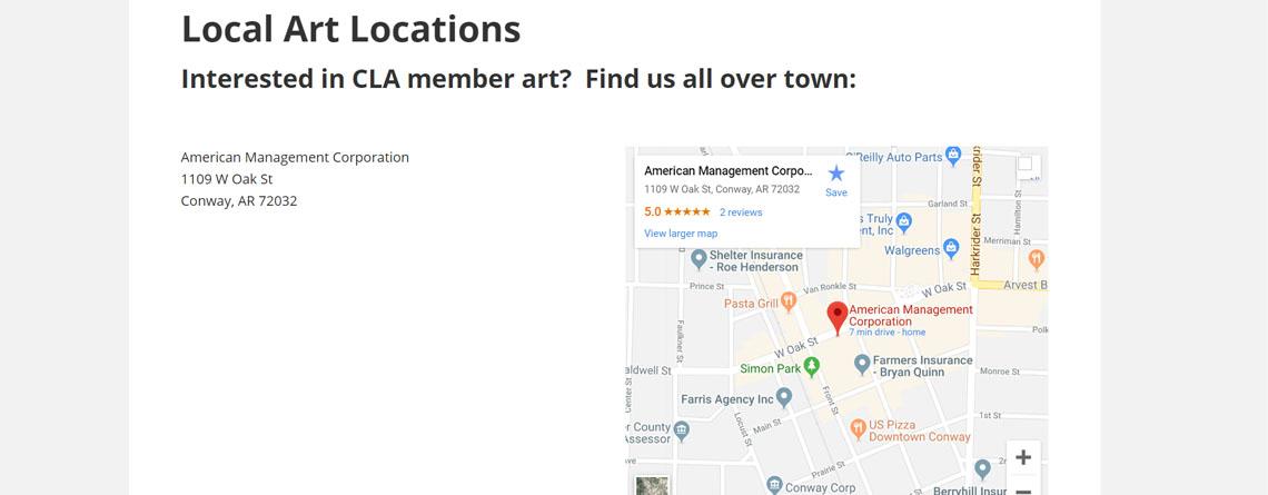 Local Art Locations